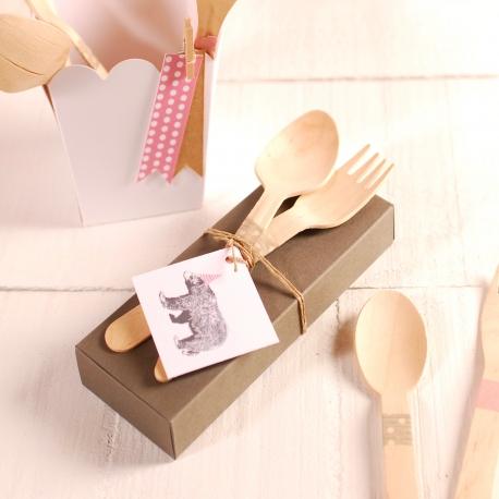 Cutlery box decoration