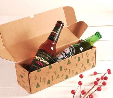 Dekoration für längliche Weihnachts-Schachtel