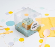 Individuelle Cupcake-Box