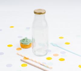 Flasche für Säfte oder Milch