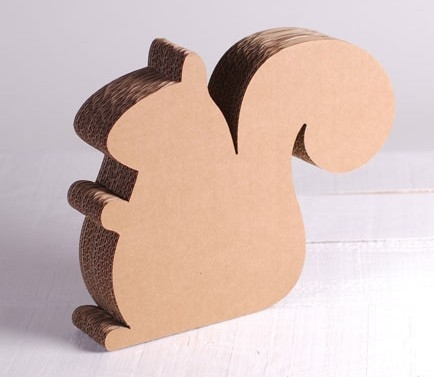 Squirrel Shaped Box