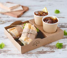 Stapelbare Schalen für Street Food