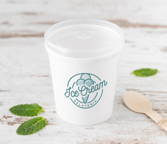 Card cup for soup or ice cream (16 OZ)