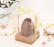 Easter egg box wih ribbon