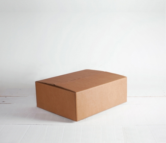 rectangular cardboard box