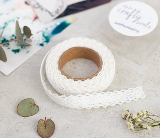 Fabric Tape Spitzen Stoff