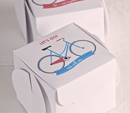 Printed gift box - Let's go!