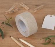Breites Fabric Tape aus Leine