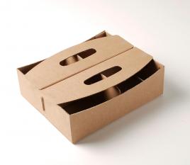 Caja de cartón para frutos rojos