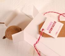 Caja alargada para perfumes