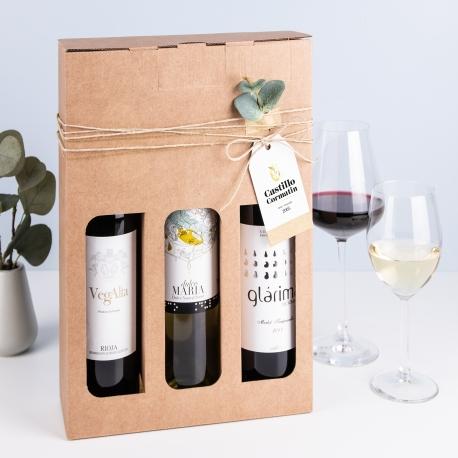 Caja para pack de vinos