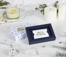 Schachtel für Weihnachtskarten