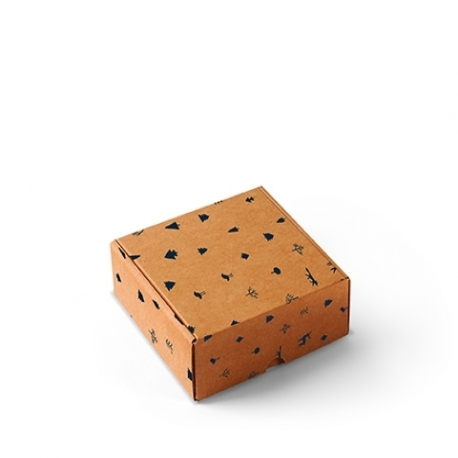 Cajas cuadradas para envíos