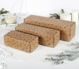 Rectangular shipping boxes