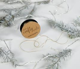 Goldschnur für Geschenke