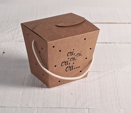 Box for crickets