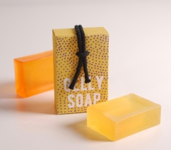 Box for natural soaps