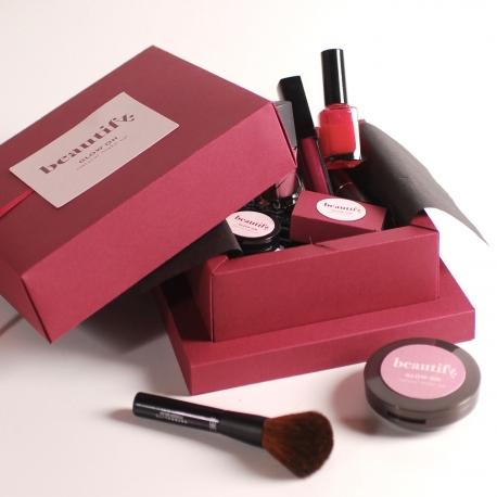 Cofre regalo de maquillaje