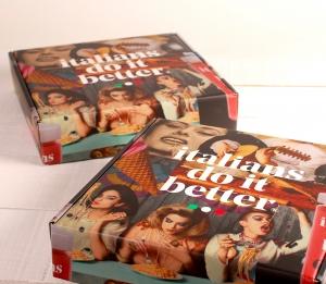 Caja premium con diseño italiano