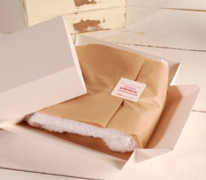 Caja para ropa orgánica
