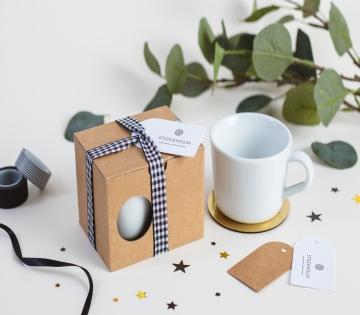 Caja de regalo para tazas con asa