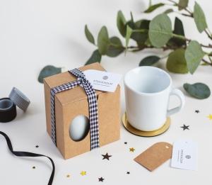 Geschenkschachtel für Tassen mit Henkel