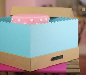 Cute cake boxes
