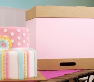 Cajas para tartas altas