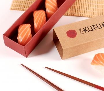 Long sushi box