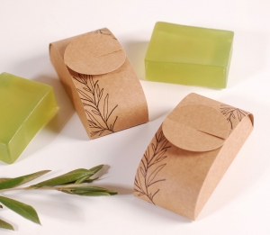 Eco-friendly soap box
