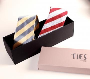 Scatola rettangolare cravatte
