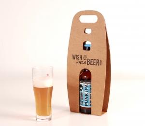Caja para cerveza individual con impresión