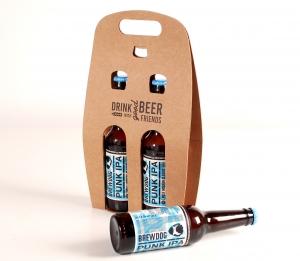 Caja para cerveza doble personalizable