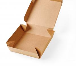 Scatola quadrata di cartone per sushi