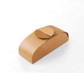 Caja de cartón elegante para sushi