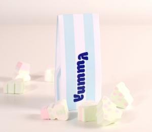 Schachtel für Bonbons ohne Fenster