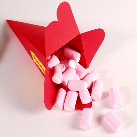 Caja cono para caramelos