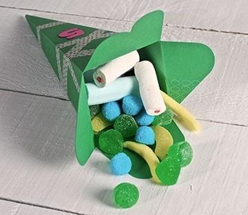 Cardboard cones for parties