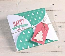 Christmas gift envelope kit