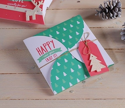 Christmas gift envelope kit