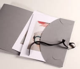 Carpeta de cartón para fotos y CD