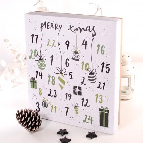 Calendario dell'avvento Merry Xmas