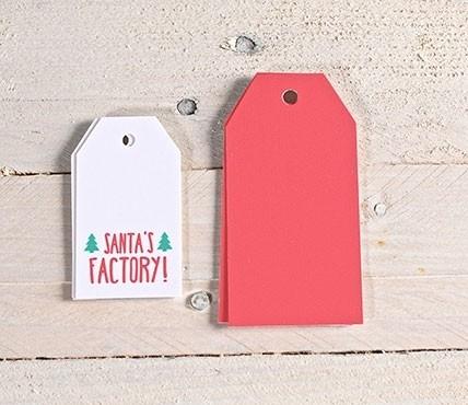 Kit di etichette classiche Santa's