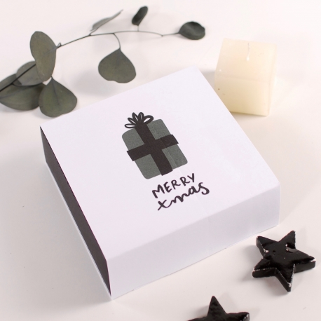 Square box for Christmas gifts