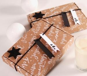 Christmas mailing box