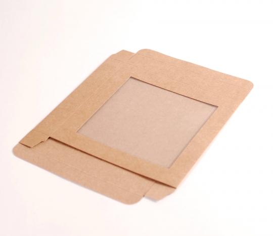 Caja plana con ventana