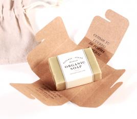 Caja para pastilla de jabón