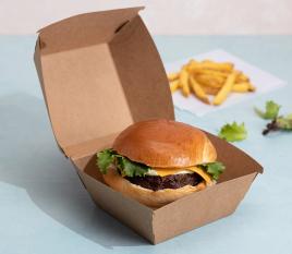 Kästchen für Hamburger