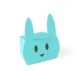 Cajita regalo con forma de conejo