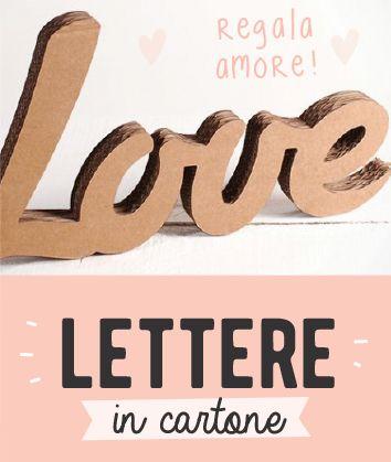 2 Letras carton